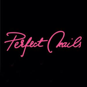 logo PERFECT NAILS - negru